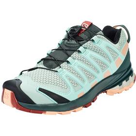 Salomon XA Pro 3D v8 Shoes Women aqua gray/urban chic/tropical peach
